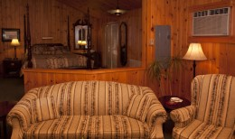 Interior of the Chalet Living Room
