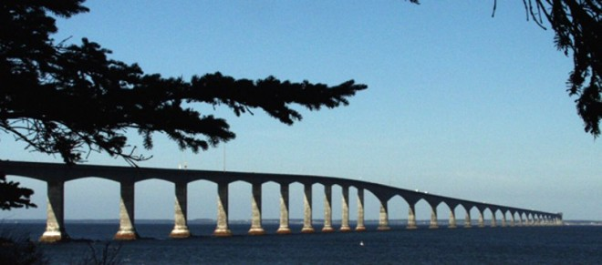 Confederation Bridge to PEI