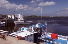 Lobster Boat Pier