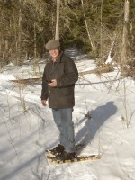 Snowshoeing Near the Amherst Shore Country Inn